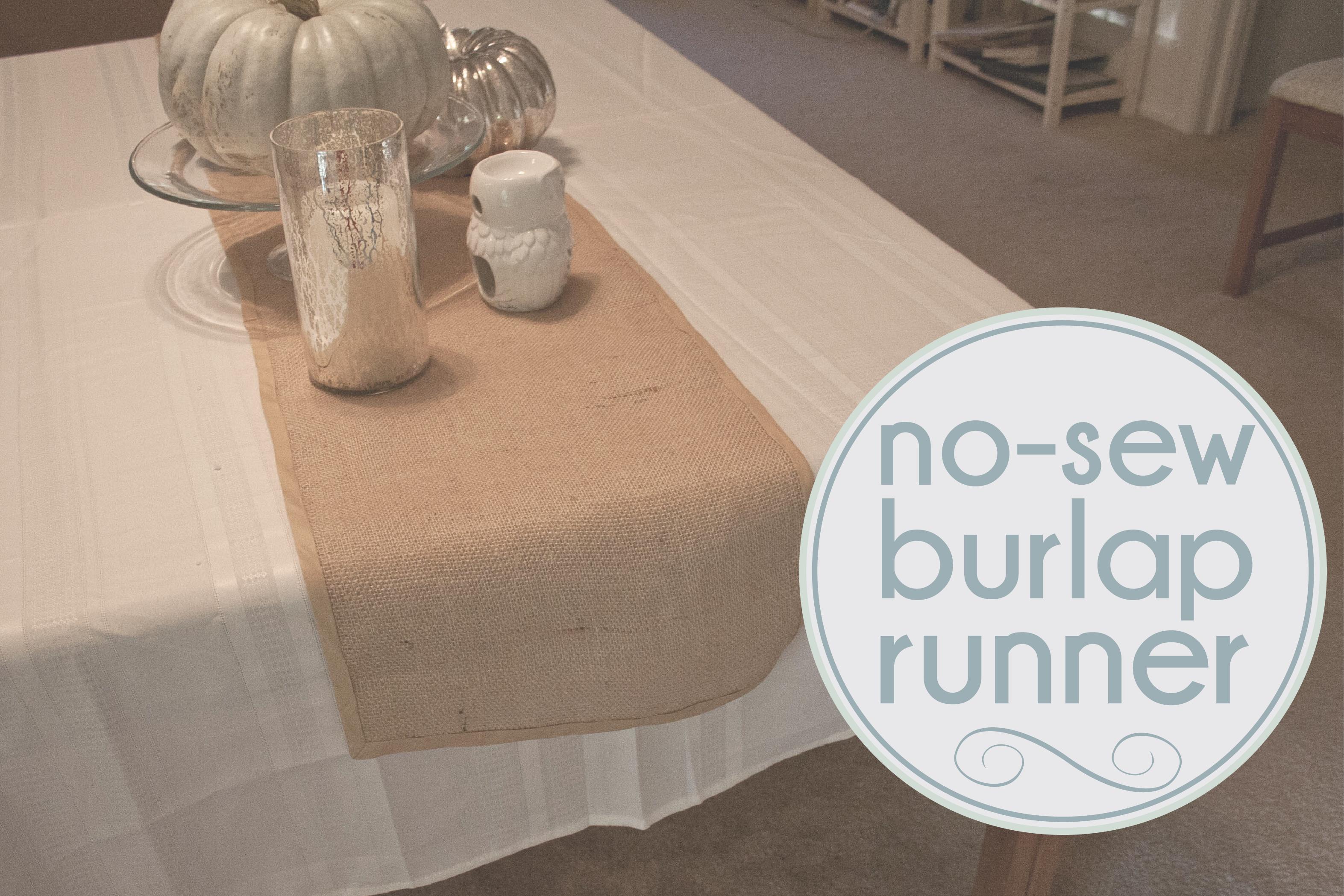 High Quality Burlap Table Runner